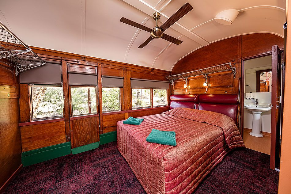 Undara Experience Railway Carriages