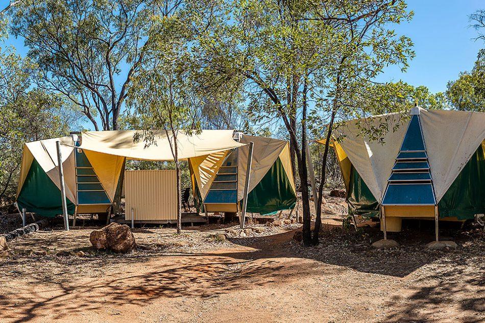 Undara Experience Swag Tent Village
